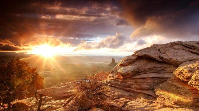 Sunrise-Desert